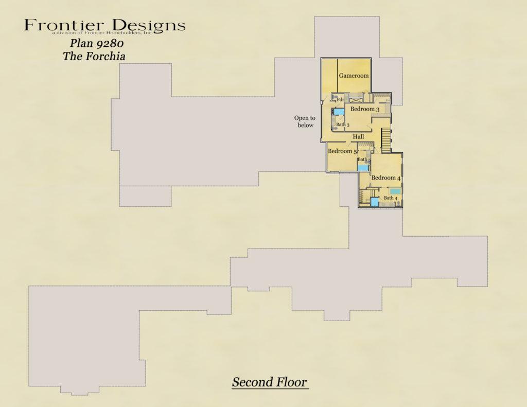 Howard second floor plan