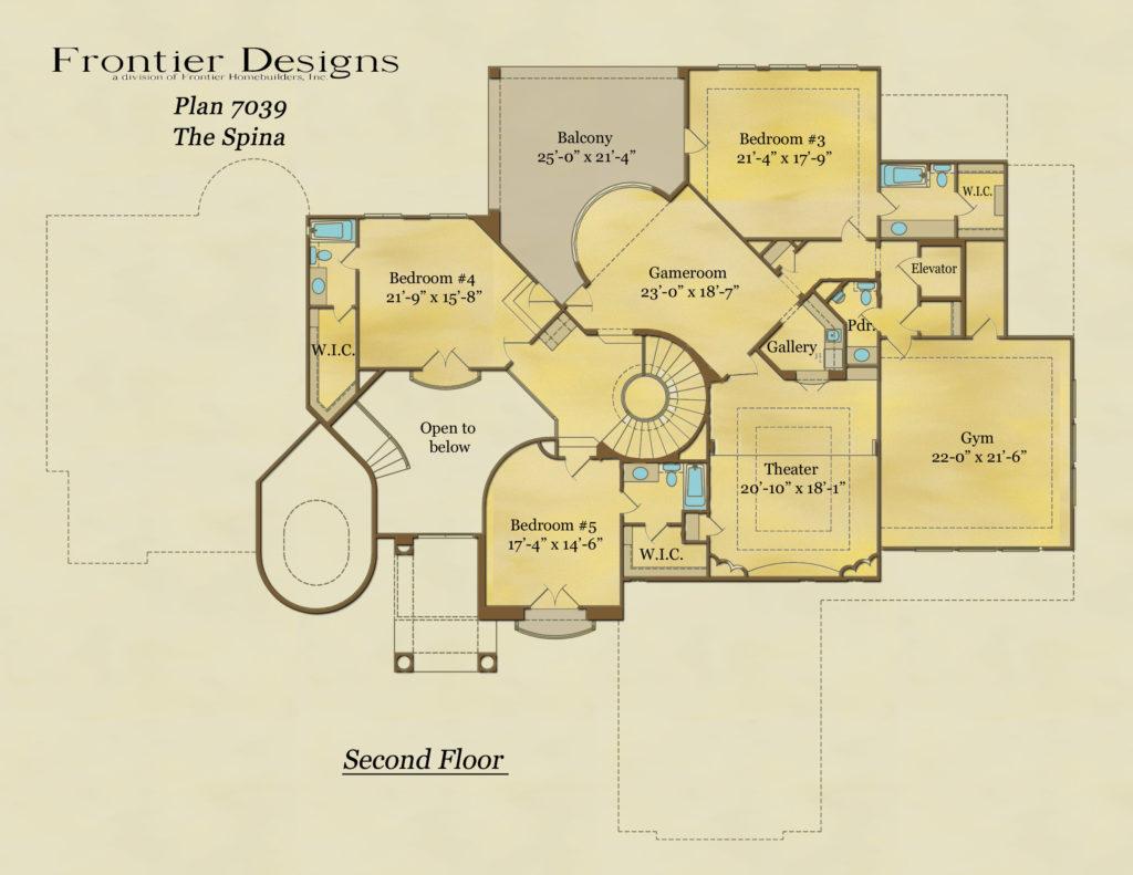 7039 Second Floor